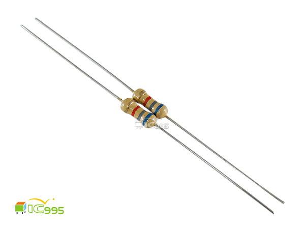 (ic995) 插板式線性電阻 1/4W 6.8KΩ ±5% 色環電阻 碳膜電阻 壹包20入 #13574