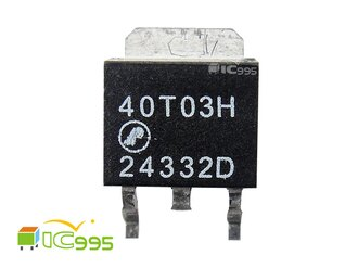 (ic995) AP 40T03H / N-CHANNEL / ENHANCEMENT / MODE POWER MOSFET #9980