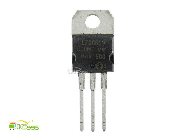 (ic995) 穩壓器 IC 芯片 - L7806CV TO-220 壹包1入 #13420