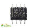 (ic995) LM393 SOP-8 低功耗低失調電壓 芯片 IC 全新品 壹包1入 #3643