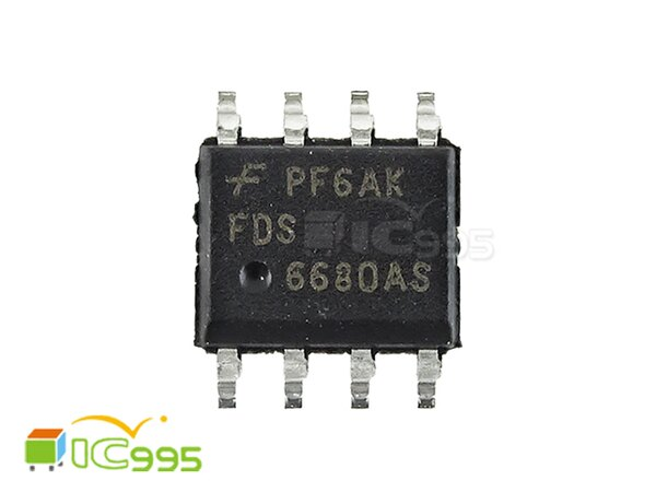 (ic995) FDS6680AS SOP-8 30V N溝道 PowerTrench SyncFET 全新品 壹包1入 #6415
