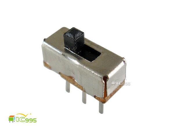 (ic995) 撥動開關 / 鞭策開關 / 滑動開關 3P SS12D00G2 兩檔 8.6mmx4mmx10.3mm 壹包10入 #0035