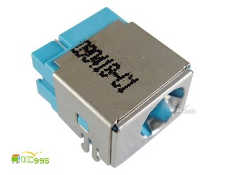 (ic995) 筆記型電腦維修零件 DC接頭-062 5.5mmx1.7mm 適用 ACER 壹包1入(淺藍) #0846
