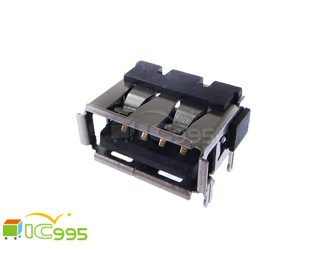 (ic995) USB Socket A Type 4 Pin Connect 單層 母座 1pcs ( USB座 接頭 主板維修 ) 913-012 #0442
