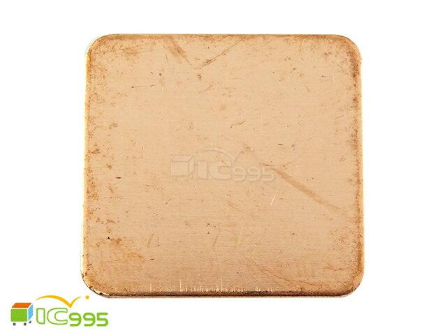 (ic995) 南北橋 散熱銅片 20X20 厚1.0mm 筆記型 主機板 CPU 全新品1入 #0921