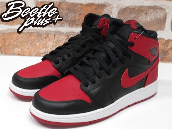 BEETLE PLUS NIKE AIR JORDAN 1 RETRO HIGH OG BG GS 黑紅 紅牛 大魔王 櫻木花道 女鞋 575441-023 1