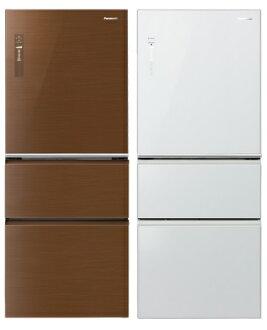 Panasonic 國際牌 NR-C508NHG 全平面玻璃無邊框變頻三門冰箱(500L)★指定區域配送安裝★
