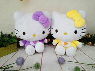 ~*My 71*~   絨毛娃娃 10吋  kitty學習娃娃 高 24cm 可愛 玩偶  Hello kitty 兒童 玩具 禮物