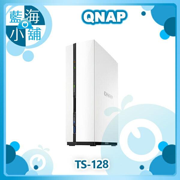 QNAP 威聯通 TS-128 2Bay NAS 網路儲存伺服器