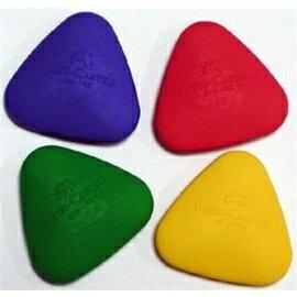 Faber-Castell 189024 可愛貝貝橡皮擦三角形造型(混色銷售)