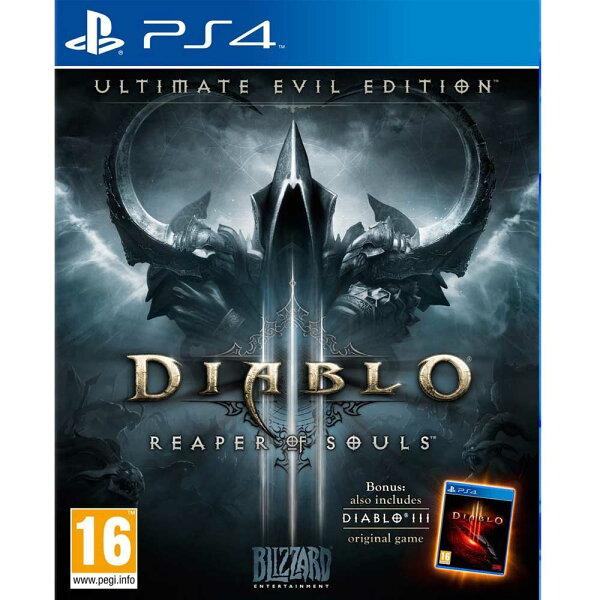 PS4 暗黑破壞神 3:奪魂之鐮 終極邪惡版 英文歐版 Diablo III