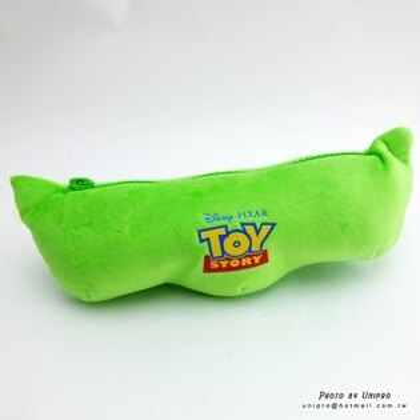 【UNIPRO】玩具總動員 豌豆三兄弟 絨毛 玩偶 娃娃 32公分 豌豆造型筆袋 吊飾 迪士尼正版授權