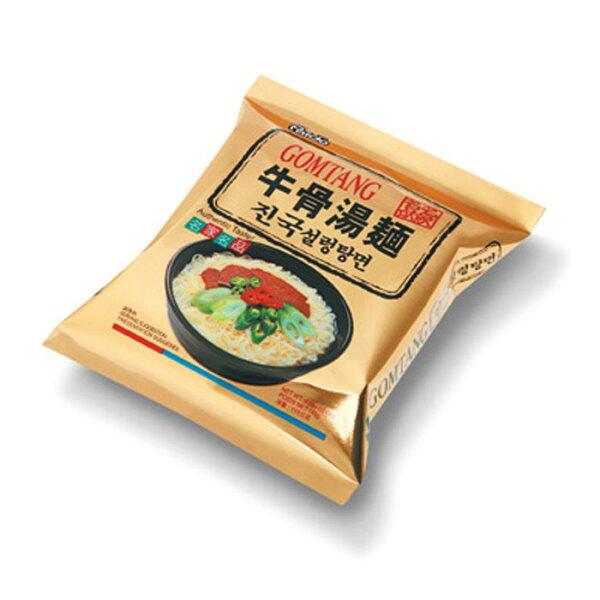 有樂町進口食品 韓國八道牛骨湯麵單包~韓國泡麵 648436100149