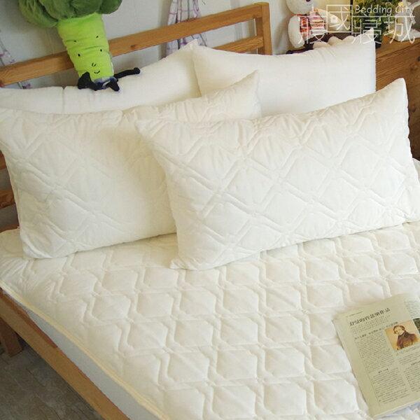 枕頭保潔墊(2入)日本DNW防螨技術、加厚鋪棉、可機洗  #防螨 #寢國寢城 3