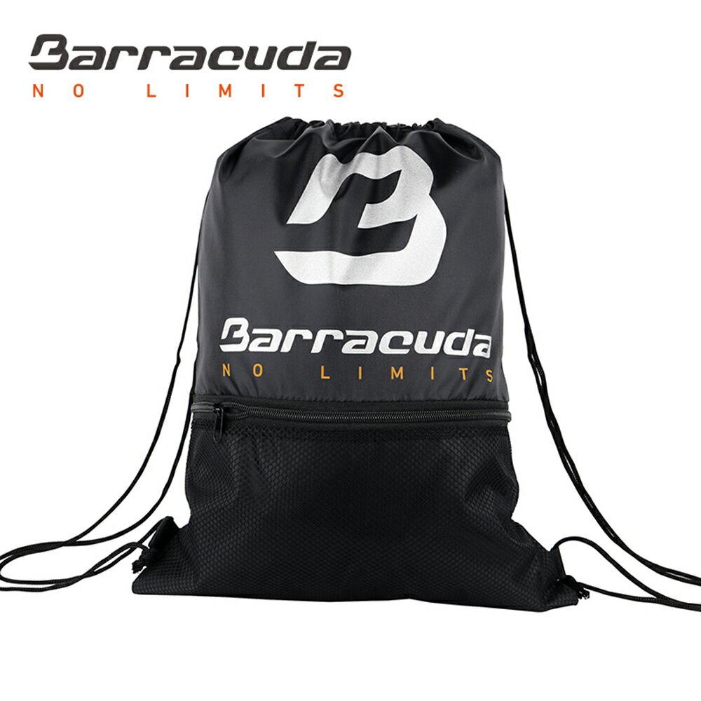 美國巴洛酷達Barracuda黑印大B網袋-便攜式束口袋 0