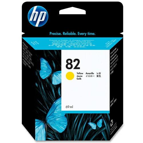 【HP 墨水匣】 C4913A /NO.82 繪圖機 黃色原廠墨水匣