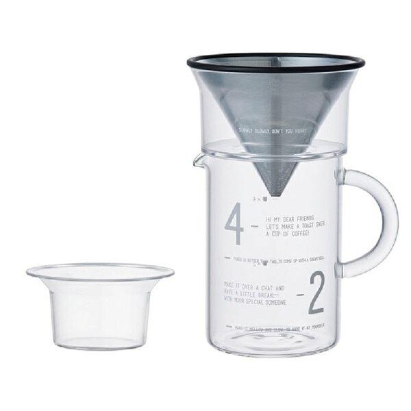 KINTO SLOW COFFEE STYLE 簡約咖啡沖泡組 600ml