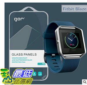 [玉山最低比價網] 鋼化玻璃膜 GOR 果然 Fitbit Blaze 2 2.5D弧邊 保護膜 保護貼  (_Y62)