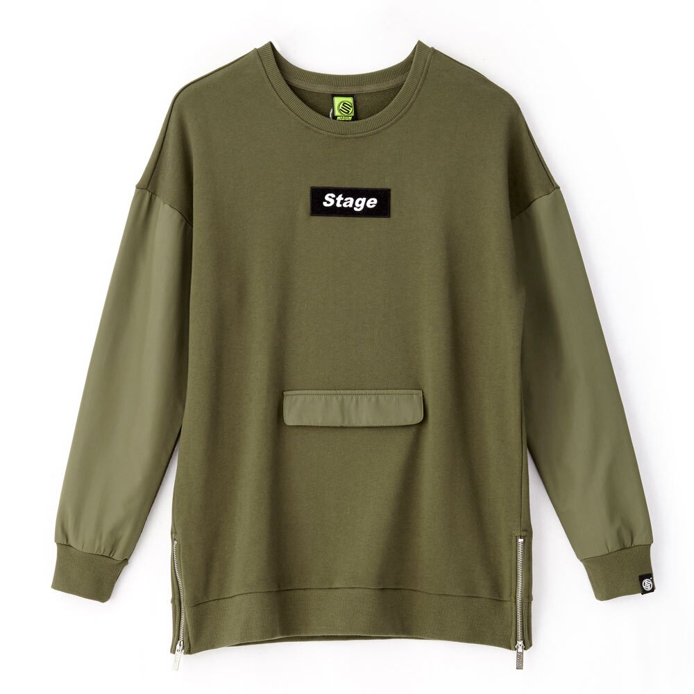 STAGE ARMOUR LS SWEATER 黑色 / 軍綠色 兩色 2