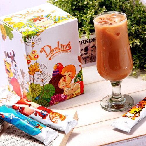 《親愛的買一送二》卡布奇諾咖啡20包+8/10包裝&攪拌匙一款(隨機) 0