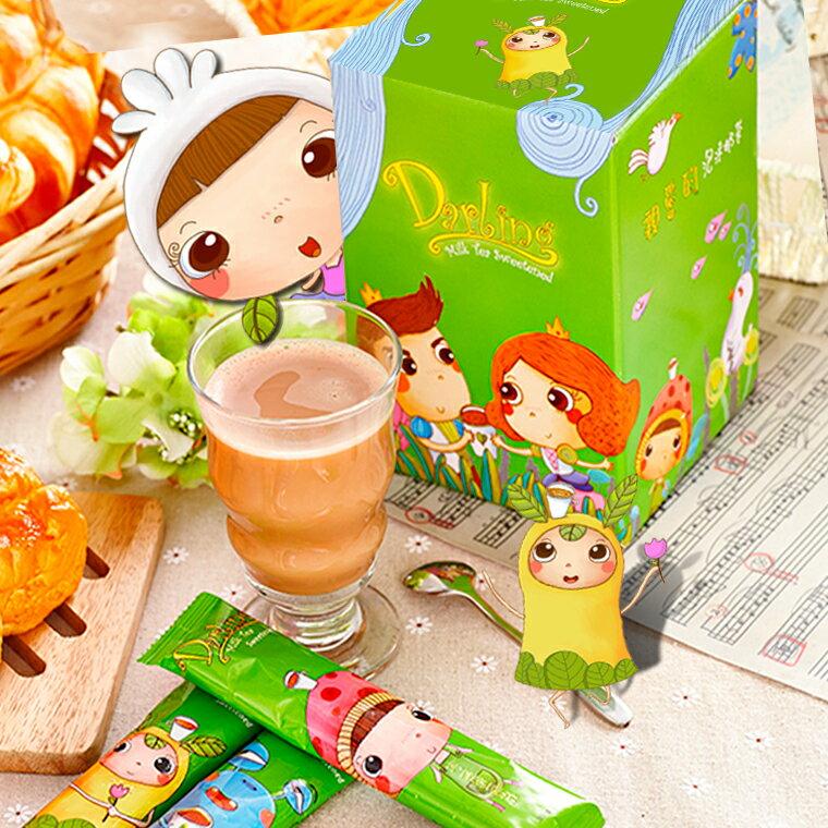 《親愛的》團團賺˙香濃泡沫奶茶*6盒(120包) ,樂天熱銷NO.1 5