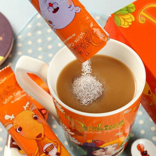 《親愛的》團團賺˙白咖啡(不加糖)*3盒(送馬克杯) 2
