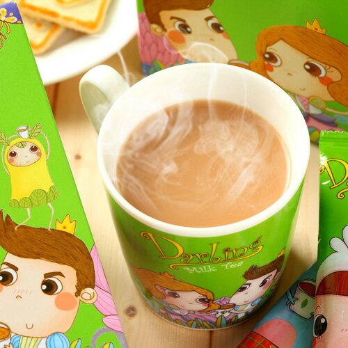《親愛的》團團賺˙香濃泡沫奶茶*6盒(120包) ,樂天熱銷NO.1 3
