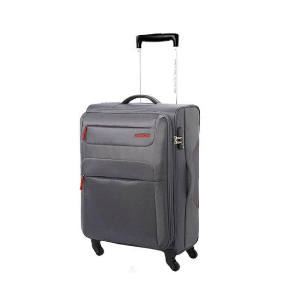 【加賀皮件】AT美國旅行者 26吋輕量布面四輪行李箱【26R-26-68】 下殺7折↘