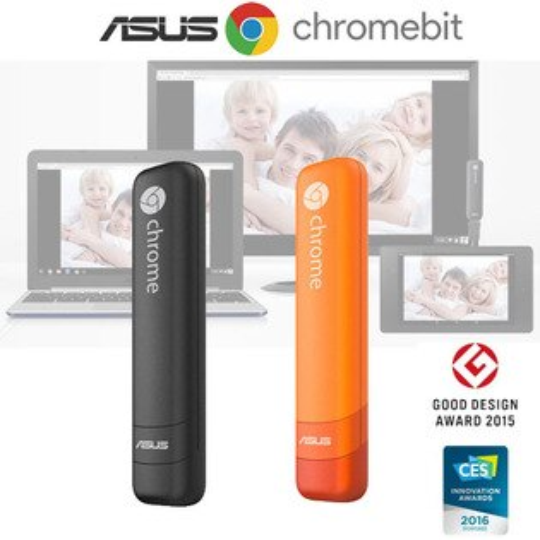 ASUS Chromebit CS10-迷你電腦HDMI電視棒(不需要與手機連線)~世界最小的Chrome OS電腦