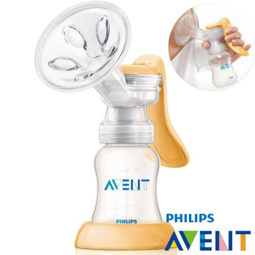 『121婦嬰用品館』Avent 標準口徑 PP手動吸乳器組合 1