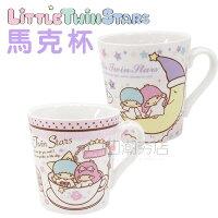 雙子星周邊商品推薦到[日潮夯店] 日本正版進口 kiki lala 雙子星 陶瓷 馬克杯 咖啡杯