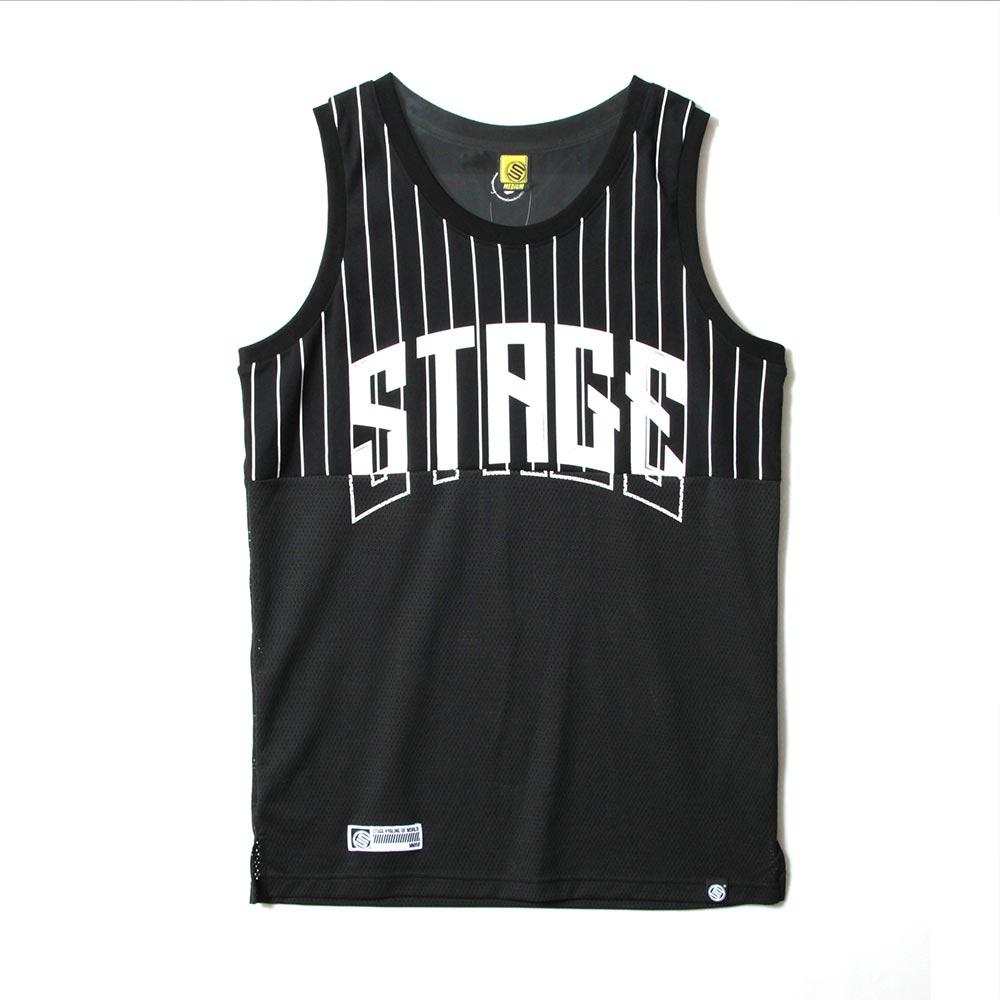 STAGE 2TONE BASKETBALL JERSEY 黑色/白色 兩色 6