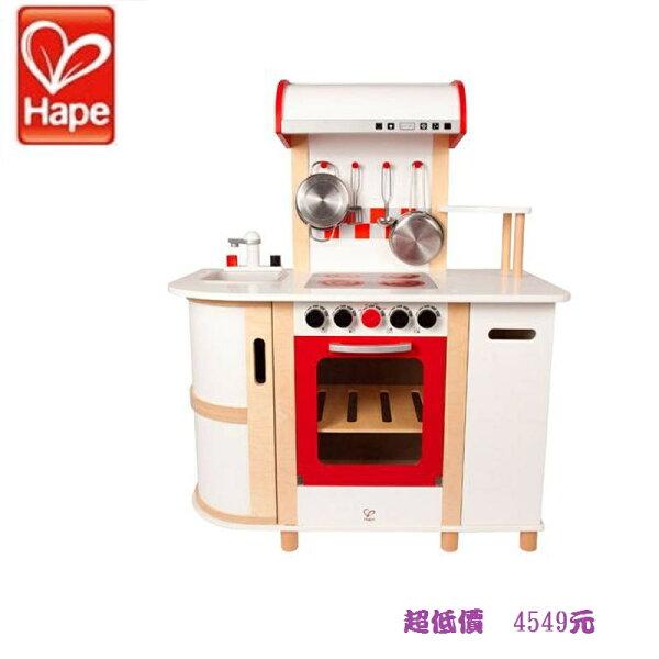 美馨兒* 德國 educo 愛傑卡 - 德國 Hape愛傑卡 豪華版廚具台 4549元