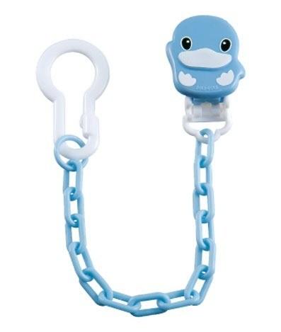 【全系列滿$500送夜燈玩具】台灣【Kuku 酷咕鴨】造型奶嘴鍊 - 限時優惠好康折扣