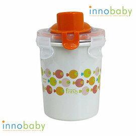 【淘氣寶寶】美國 Innobaby 雙層不鏽鋼吸管學習水杯 不銹鋼水杯 8oz 240ml 橘色小魚【保證公司貨●非水貨】