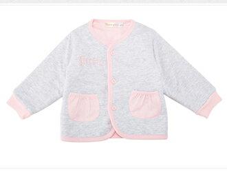 ☆Babybol☆粉色系織針保暖套裝 外套 背心裙 上衣 褲襪 四件組套裝【24127】 1