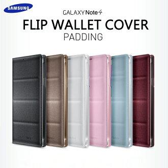SAMSUNG GALAXY Note 4 N910U 原廠側掀感應皮套/智能感應晶片保護套/電池蓋皮套/背蓋保護殼/休眠保護套/東訊/神腦公司貨