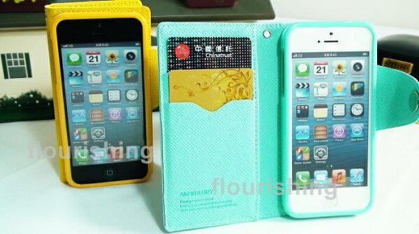 韓國Mercury Apple iPhone 5/SE  專用 第2代側翻皮套/書本式皮套/側翻保護套/側開皮套/保護套