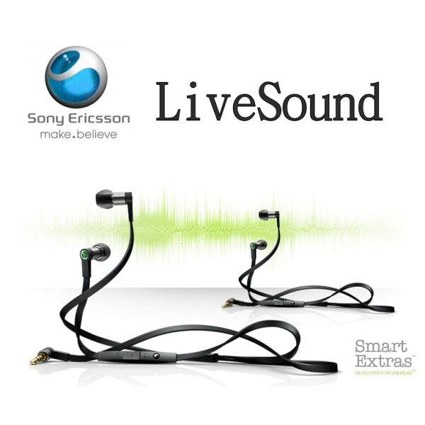 Sony Ericsson LiveSound 立體聲原廠耳機 Hi-Fi 線控耳機 MH-1/MH1 (3.5mm)(裸裝) ST17i/Play MT16i/MT15i/NEO V MT11i/CK15i