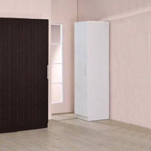 生活大發現-單門衣櫥/衣櫃/衣架/收納櫃/置物櫃/此為白色下標區