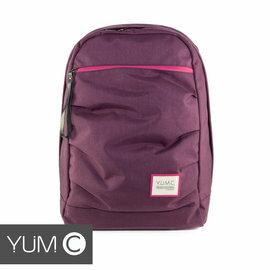 【風雅小舖】【美國Y.U.M.C. Haight城市系列Day Backpack經典筆電後背包 貴族紫】筆電包 可容納15.6寸筆電