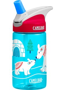 Camelbak 兒童水壺/吸管運動水瓶/吸管水瓶 eddy 400ml CB54176 北極熊家族