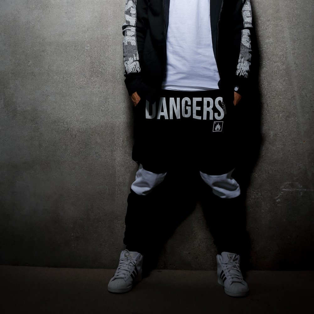 STAGE  SPRAY CAN PANTS  黑色 0
