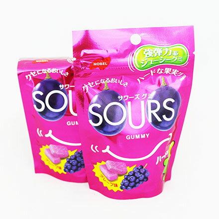 【敵富朗超巿】Sours糖-葡萄軟糖(有效日期:2016.11.30) 0