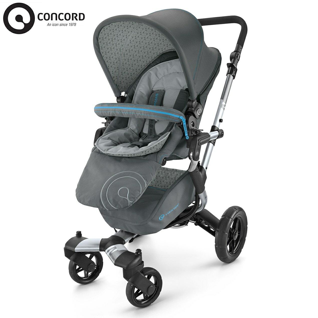 德國【CONCORD】 NEO 手推車(灰色) 0