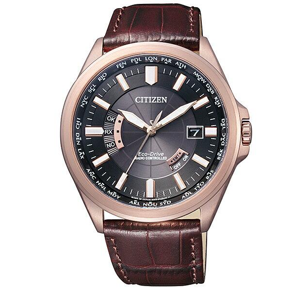 日月星辰CITIZEN 奢華玫瑰金氣派配色 精緻日期窗紳士必備錶星辰錶款七天預購+現貨