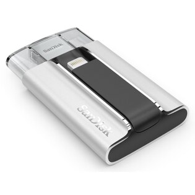 可傑  SanDisk iXpand OTG 16GB 雙用隨身碟 支援iPhone/iPad 公司貨