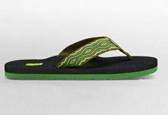 (陽光樂活) TEVA 美國水陸運動品牌 男款 織帶夾腳拖鞋 TV 4168QNGR