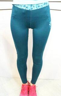 [陽光樂活] Kappa 女 慢跑緊身褲 吸濕 排汗 速乾 防污 免燙 FD52-Y001-4 綠
