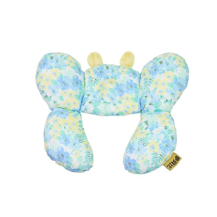 Mam Bab夢貝比 - 大護頸枕(蝴蝶枕) -小藍花 0